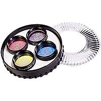 Celestron 95517 1.25-Inch LRGB Imaging Filter Set (Black)