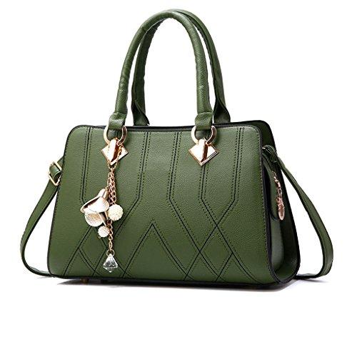 mode simple main et Sac sac d'âge Armée à Nouveau sac Verte féminin sac été moyen à dames printemps bandoulière Messenger I0PSPw5x