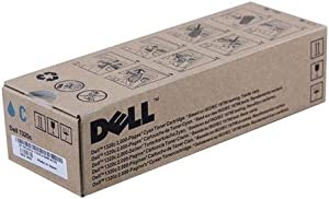 Dell KU051 CT200945 1320 Laser Toner Cartridge (Cyan) in Retail Packaging