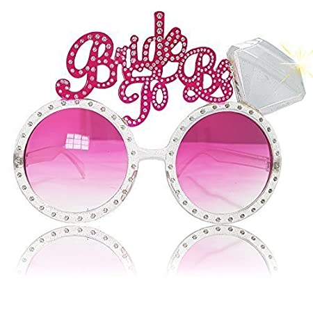 65fe9435d0c 2 x Wholesale Solutions Ltd - Hen Party Bride To Be Glasses Bling Night  Novelty Bride To Be Party  Amazon.co.uk  Kitchen   Home