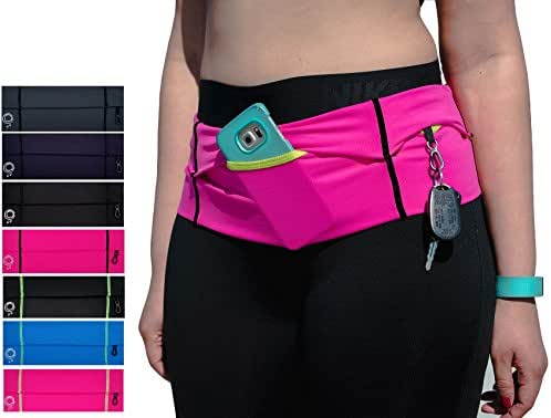 Stay Fit Running Co. Running Belt For iPhone 8. Made for women! Ethically Made in the USA