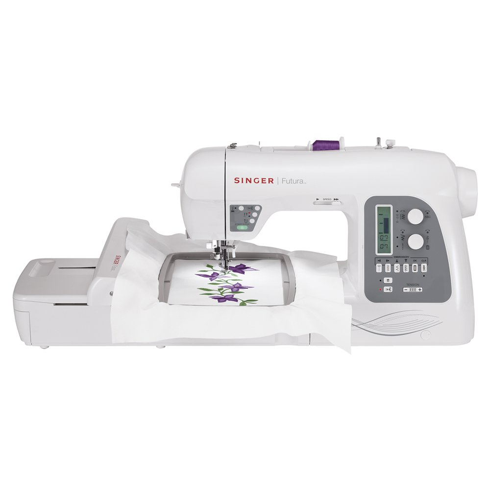 SINGER Futura XL-550 - Multihooping embroidery machine with the largest number of built-in sewing stitches