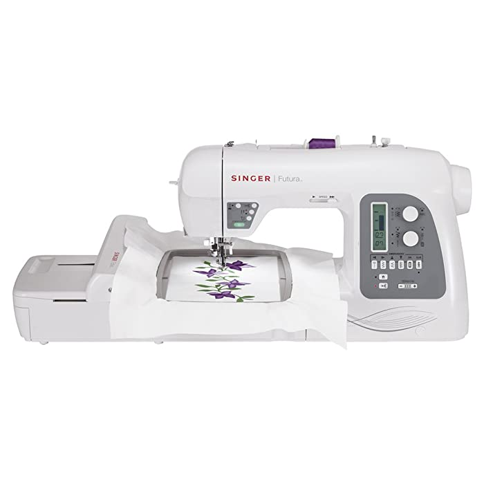 Singer Futura XL-550 Embroidery Sewing Machine Review