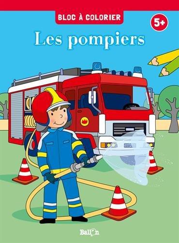 Coloriage Ballon Pdf.Bloc A Colorier Les Pompiers Telecharger De Ballon Pdf