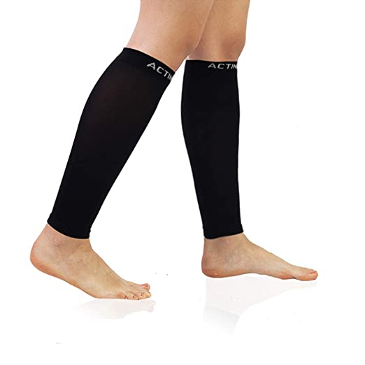 2563b4bf37 Men's Calf Compression Sleeve 1/3 Pairs 20-30mmHg Multiple Colors Graduated  Sports (