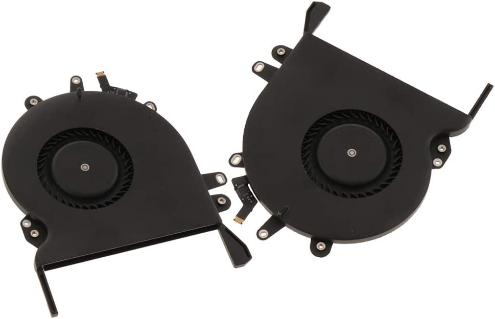 2Pcs Left+Right CPU Cooling Fan for Apple MacBook Pro Touch Bar A1707 2016