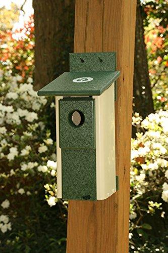 Nesting Box Ivory Bluebird House by Rubicon