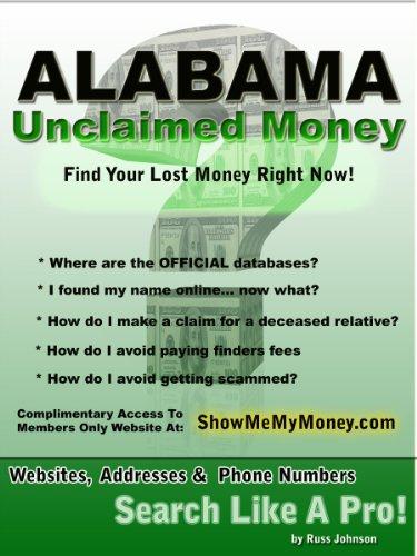 amazon com alabama unclaimed money how to find free missing money