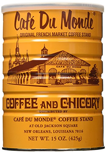 Cafe Du Monde Coffee Chicory, 15-Ounce