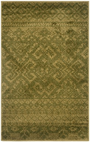 Safavieh Adirondack Collection ADR107T Slate Ivory Rustic Bohemian Area Rug -  - living-room-soft-furnishings, living-room, area-rugs - 51AGB998h9L -