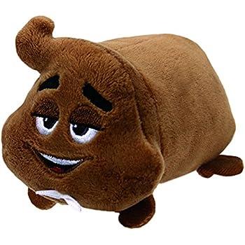 Ty Beanie Babies 42297 Emoji Movie Poop Sr