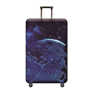 Kewing Viajes Maleta Cubre Protectores Media Magia Espacio Serie Luna Star Sun Nebulosa Impresión Equipaje Cubierta: Amazon.es: Equipaje