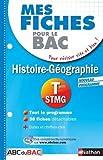 Mes fiches Histoire Géographie Term STMG