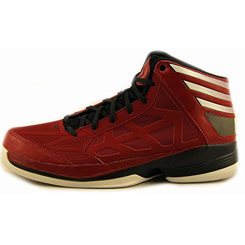 Adidas Men's Crazy Shadow Basketball Shoes University Red/White/Black buy cheap professional outlet find great store sale online vVunKAhb