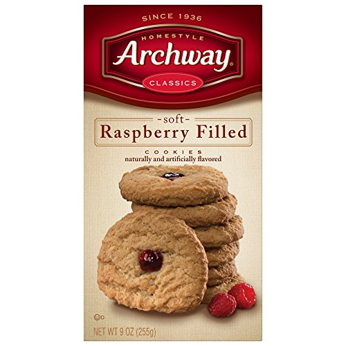 Soft Raspberry - Archway Cookies, Soft Raspberry Filled, 9 Ounce (Pack of 9)