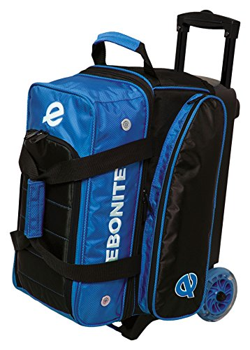 Ebonite Eclipse Double Roller Bowling Bag, Royal by Ebonite