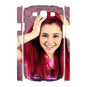 linfenglin Ariana Grande Customized Hard 3D Case For Samsung Galaxy S3 I9300