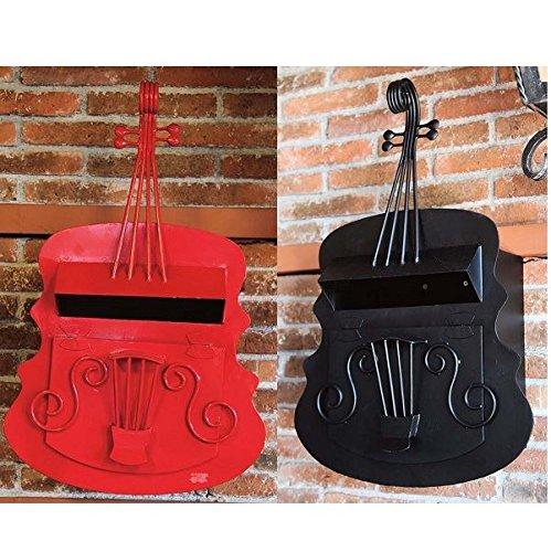ジャービス商事 ポスト バイオリンポスト 黒  本体カラー:黒 B072Z7F5BT