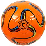 American Brasilia Soccer Ball (Orange, 4)