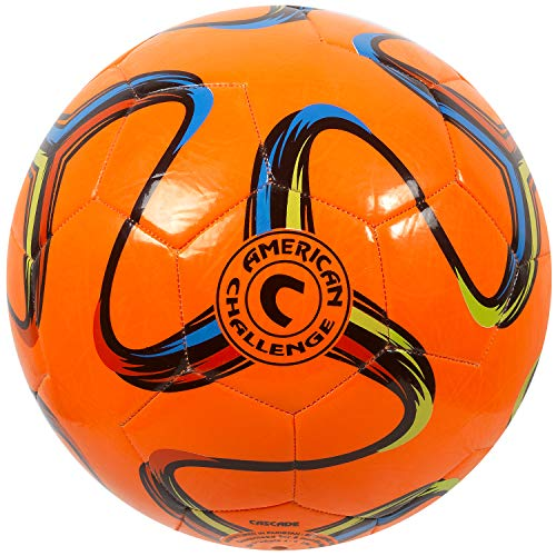 American Brasilia Soccer Ball (Orange, -