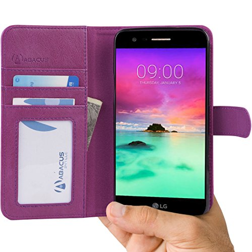 Abacus24 7 Wallet Blocking Leather Purple product image