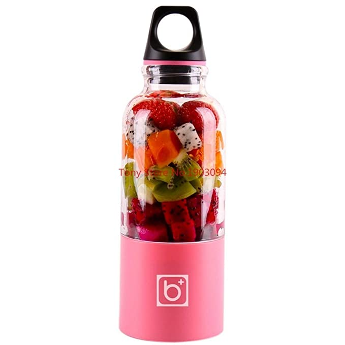 VBNM Thermos 550Ml Portable Electric Usb Juicer Cup