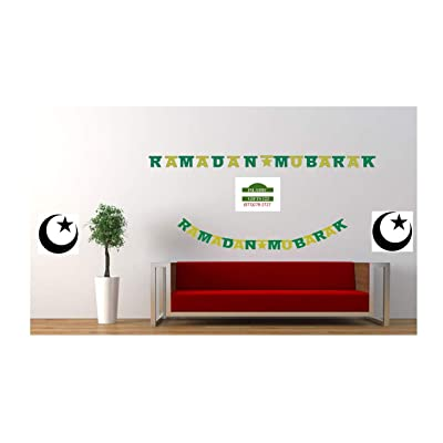 RAMADAN MUBARAK GLITTER BANNERS -Wholesale LOTS-Decoration-Islamic Gifts 123 (1): Toys & Games