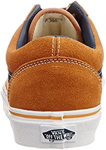 80a38e7ba5966c Vans Men s Old Skool Canvas Sneakers. Vans Men s Old Skool Suede and Leather  Brown Sugar ...
