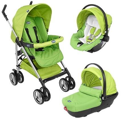 Chicco Trio Sprint - Cochecito combi para bebé, diferentes colores Green Wave