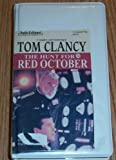 The Hunt for Red October Unabridged Audio Cassette