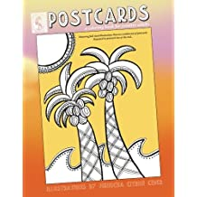 Postcards: coloring book for creative adults