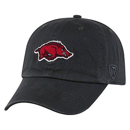 Top of the World Arkansas Razorbacks Men's Hat Icon, Charcoal, Adjustable