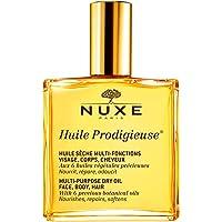 NUXE Huile Prodigieuse – multifunktionell torrolja för ansikte, kropp och hår – alla hudtyper (1 x 50 ml)