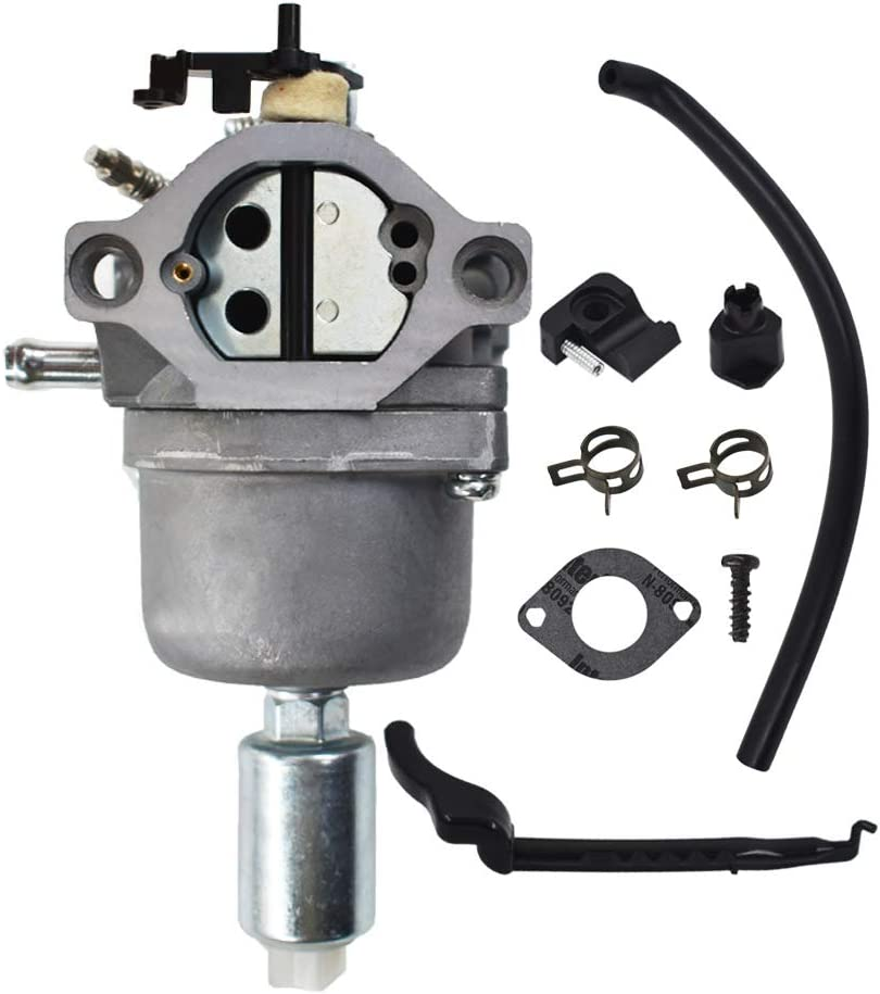 Carburetor Fits for Briggs Stratton 594593 697141 697190 698445 698620 699109 699937 799727 791858 792358 793224 794572 14 hp 15 hp 16 hp 17hp 17.5 hp 18 hp Craftsman Lawn Mower Tractor Tune-Up Kit