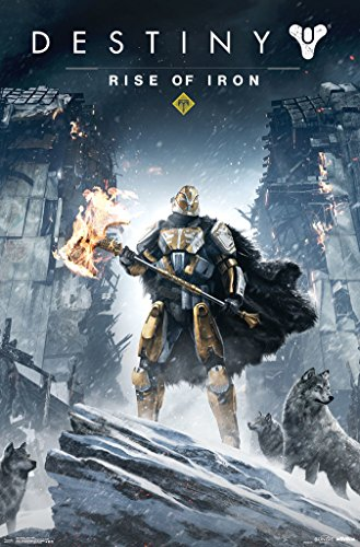 Trends International Destiny Rise Of Iron Video Gaming Poster 22x34 inch