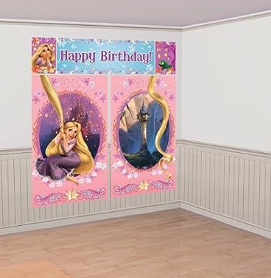 Amscan - Decoración de pared para cumpleaños con diseño de ...