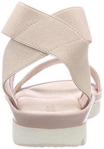 Caviglia 46 Rosa Alla rose Donna Sandali Cinturino Flex Comfy Bianco Con x8qZawYv
