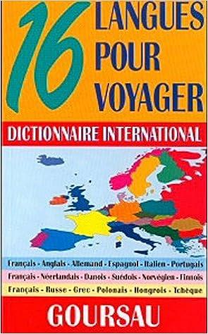 Amazon Fr Dictionnaire International 16 Langues Pour