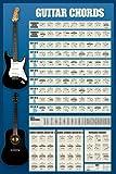 1art1 Empire Educational Poster Guitar Chords Version 4 No Frame