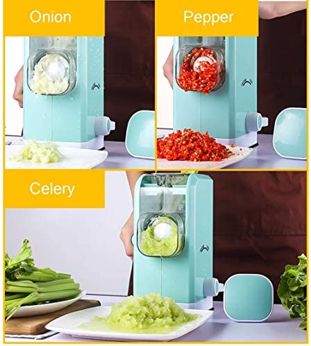 Vegetable Spiralizer Portatif 4 en 1 coupe-légumes légumes Chopper
