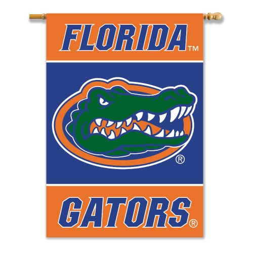 NCAA Florida Gators Double Sided Banner, 28 x 40-Inch (Florida Banner Gators)