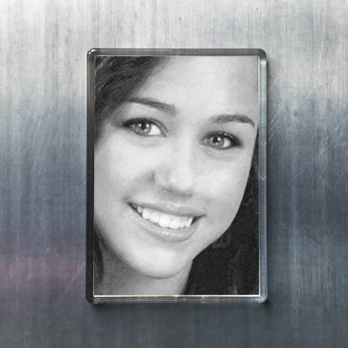 - Seasons Miley Cyrus - Original Art Fridge Magnet #js002