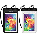 Best MoKo Tablet Computers - Universal Waterproof Case, MoKo [2-Pack] Dry Bag Pouch Review