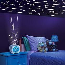 Discovery Kids Sound Machine Projection Alarm Clock Children's Bedroom
