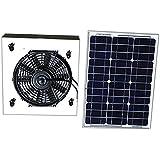 Amtrak Solar 25-Watt Solar Attic Fan