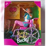 Mattel Barbie Becky Share a Smile Special...