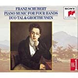 Schubert: Piano Music for Four Hands, Vol. 1