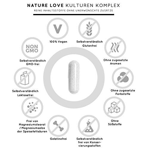 Probiona Kulturen Komplex Kapseln - 18 Bakterienstämme mit Bio ...