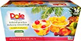 Dole Diced Peaches, Cherry Mixed Fruit Variety Pack, 16-4oz Cups