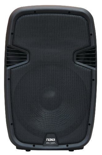 NAXA Electronics NDS-1503 Wireless 15-Inch Pro PA/DJ Speaker System with Bluetooth - 450 Watt Five Way Speakers